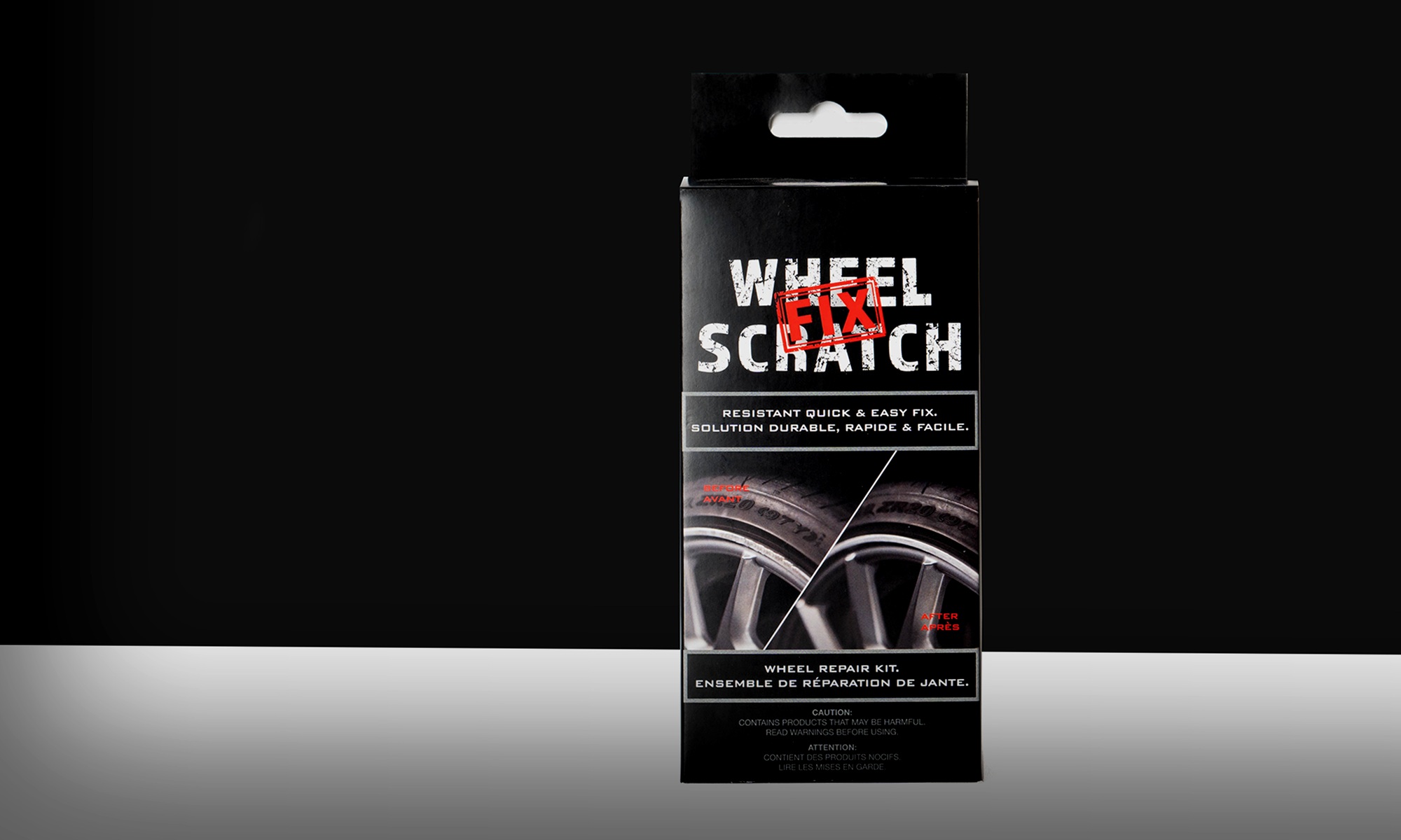 Wheel Scratch fix